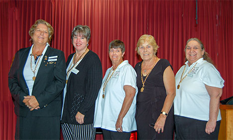WOTM board of officers
